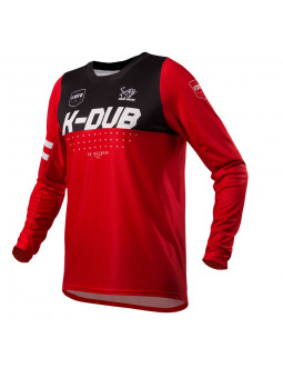 Maillot 7.0 K-DUB RED ENFANT